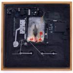 Schilderij van Willem Rasing, expositie in de praktijk